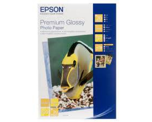 Бумага Фотобумага для принтера Epson Premium Glossy Photo Paper 10x15 (20 листов) (255 г/м2)