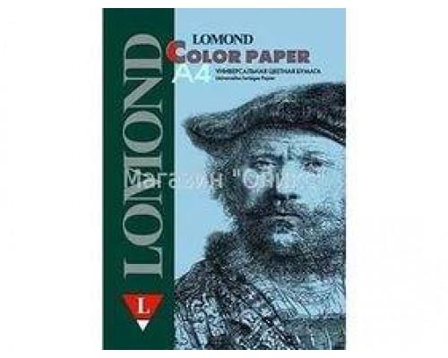 Офисная цветная бумага LOMOND, Ocean (Светло-голубой), A4, 80 г/м2, 200л., пастель