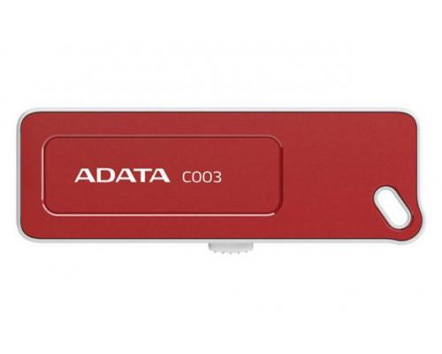 Флеш накопитель 16GB A-DATA Classic C003, USB 2.0, Красный