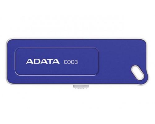 Флеш накопитель 16GB A-DATA Classic C003, USB 2.0, Синий
