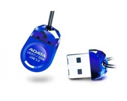 Флеш накопитель 16GB A-DATA DashDrive UD311, USB 3.0, Синий