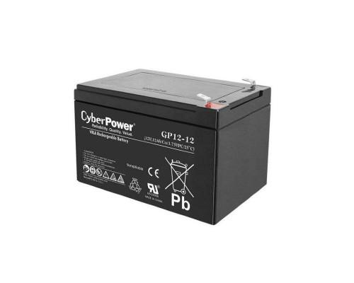 CyberPower GP12-12 Аккумулятор 12V12Ah, клемма F2