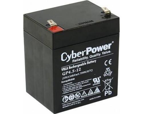 CyberPower GP4.5-12 Аккумулятор 12V4.5Ah, клемма F2