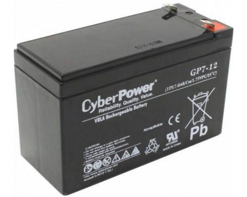CyberPower GP7-12 Аккумулятор 12V7Ah, клемма F2