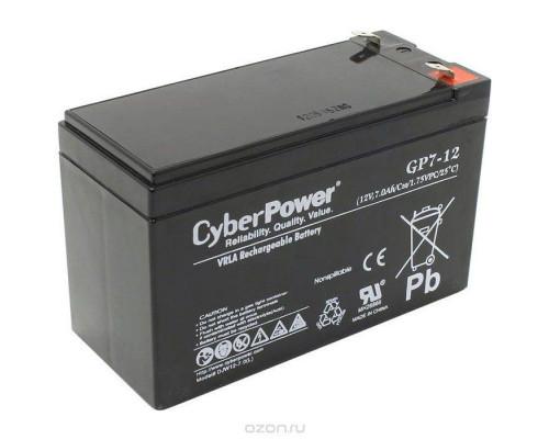 CyberPower GP7.2-12 Аккумулятор 12V7.2Ah, клемма F2
