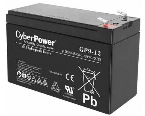 CyberPower GP9-12 Аккумулятор 12V9Ah, клемма F2