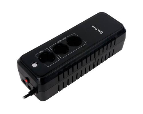 CyberPower ИБП EX650E 650VA/360W USB/RJ11/45 (3 EURO)