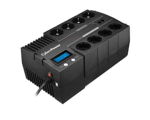 CyberPower ИБП Line-Interactive BR1000ELCD 1000VA/600W USB/RJ11/45 (4+4 EURO)
