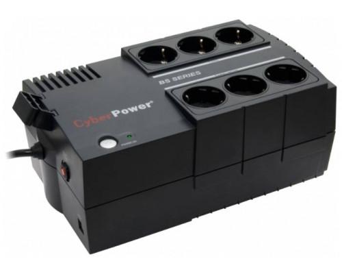 CyberPower ИБП Line-Interactive BS450E 450VA/270W USB (3+3 EURO)