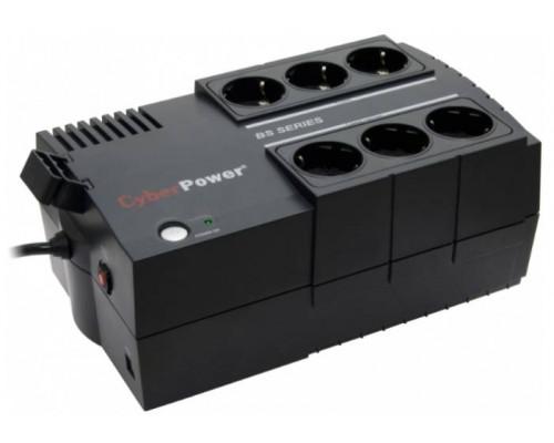 CyberPower ИБП Line-Interactive BS650E 650VA/360W USB (3+3 EURO)