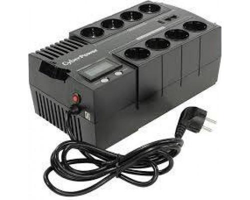 CyberPower ИБП Line-Interactive BS850E NEW 850VA/480W, 8 Schuko розеток, USB, Black