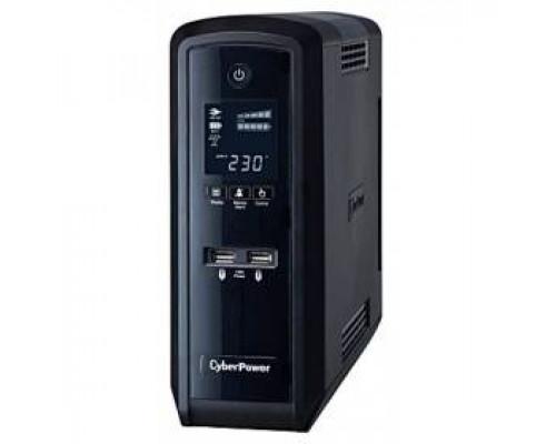 CyberPower ИБП Line-Interactive CP1500EPFCLCD 1500VA/900W USB/RS-232/RJ11/45 (6 EURO)