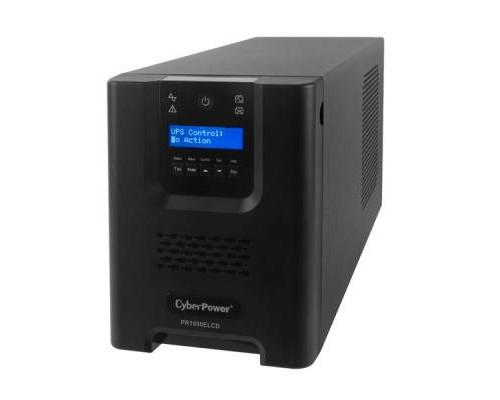 CyberPower ИБП Line-Interactive PR1000ELCD 1000VA/900W USB/RS-232/EPO/SNMPslot (8 IEC С13)