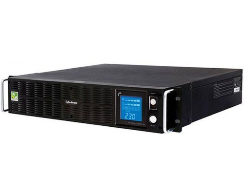 CyberPower ИБП Line-Interactive PR2200ELCDRTXL2U USB/RS-232/Dry/EPO/SNMPslot/RJ11/45/ВБМ