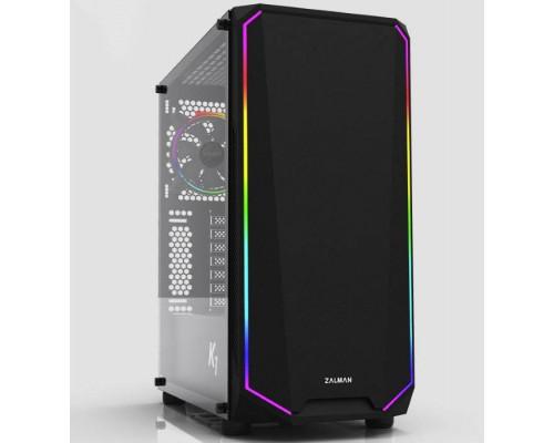 Корпус ZALMAN K1 (4xUSB, 2xAudio, 120мм FAN, ATX, без БП)