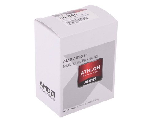 Процессор AMD Athlon X4 840   BOX