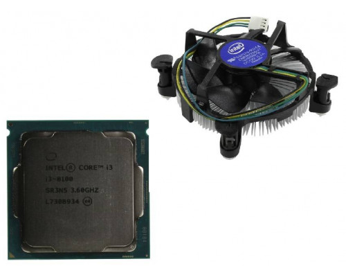 Процессор INTEL Core i3-8100  BOX