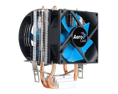 Кулер CPU Aerocool Verkho 2 Dual (универсальный, 120W, 15-25 dB, 1000-2300 rpm, 90+80мм, 4pin, медь+алюминий) RTL