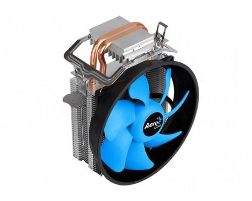 Кулер CPU Aerocool Verkho 2 Plus (универсальный, 115W, 18-27 dB, 1000-2000 rpm, 120мм, 4pin, медь+алюминий) RTL