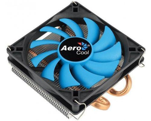 Кулер CPU Aerocool Verkho 2 Slim (универсальный, 105W, 18-27 dB, 1000-2300 rpm, 90мм, 4pin, медь+алюминий) RTL