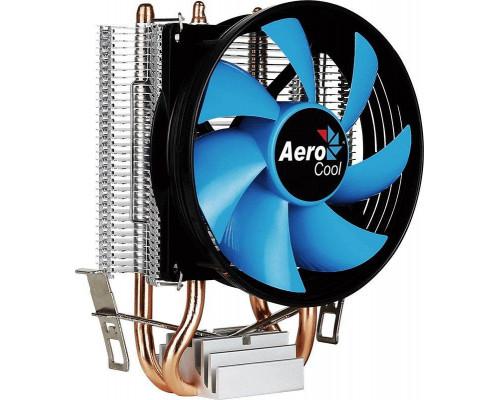Кулер CPU Aerocool Verkho 2 (универсальный, 110W, 15-25 dB, 800-2000 rpm, 90мм, 4pin, медь+алюминий) RTL