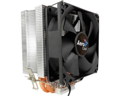 Кулер CPU Aerocool Verkho 3 (универсальный, 120W, 15-24 dB, 1200-2800 rpm, 90мм, 4pin, медь+алюминий) RTL