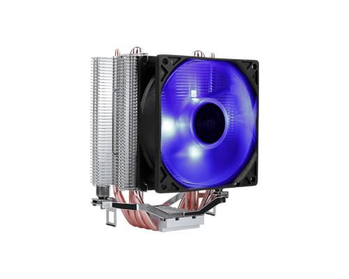 Кулер CPU Aerocool Verkho 4 Lite (универсальный, 125W, 19-27 dB, 1000-2000 rpm, 90мм, 4pin, медь+алюминий) RTL