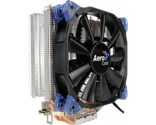 Кулер CPU Aerocool Verkho 4 (универсальный, 140W, 15-27 dB, 800-2000 rpm, 120мм, 4pin, медь+алюминий) RTL