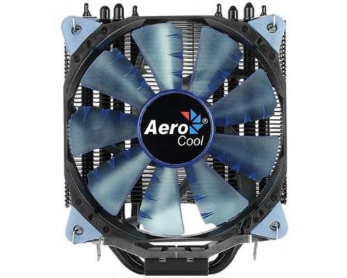 Кулер CPU Aerocool Verkho 5 Dark (универсальный, 150W, 15-27 dB, 800-2800 rpm, 120мм, 4pin, медь+алюминий) RTL