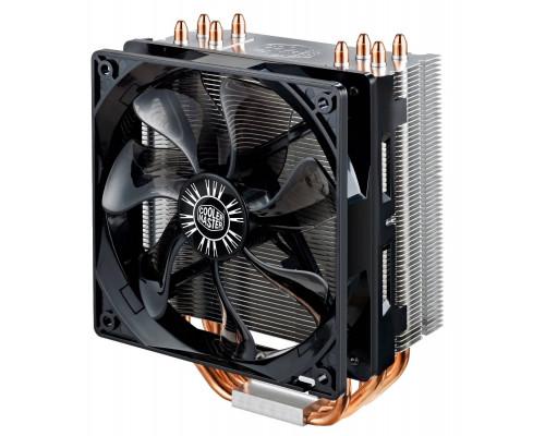 Кулер CPU Cooler Master Hyper 212 EVO (универсальный, 150W, 9-31 dB, 600-1600rpm, 120мм, 4pin, медь+алюминий) RTL