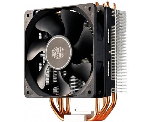 Кулер CPU Cooler Master Hyper 212X (универсальный, 150W, 13-28 dB, 600-1700rpm, 120мм, 4pin, медь+алюминий) RTL