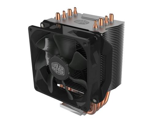 Кулер CPU Cooler Master Hyper H412R Non LED (универсальный, 100W, 29.4dB, 600-2000rpm, 92мм, 4pin, медь+алюминий) RTL