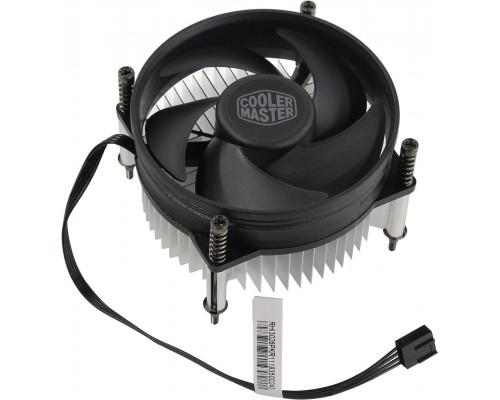 Кулер CPU Cooler Master i50 PWM (1150/1151/1155/1156, 65W, 28dB, 2000rpm, 92мм, 4pin) RTL