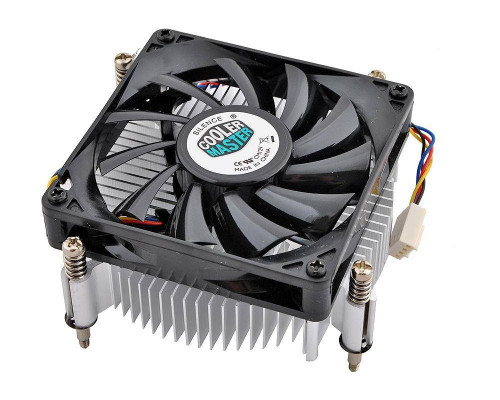 Кулер CPU Cooler Master Standard Intel (1150/1151/1155/1156, 82W, 28dB, 800-2600rpm, 80мм, 4pin) RTL