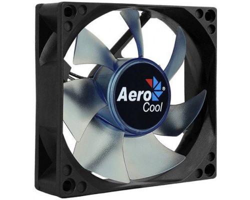 Вентилятор Aerocool Motion 8 Blue-3P 80 (80мм, 25dB, 2000rpm, 3 pin, синяя подсветка) RTL