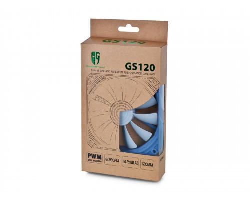 Вентилятор DEEPCOOL GS120 (120мм, 18-32dB, 900-1800 rpm, 4pin) RTL