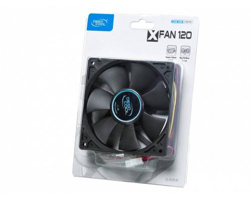 Вентилятор DEEPCOOL XFAN 120 (120мм, 24dB, 1300rpm, 3/4pin) RTL