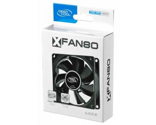 Вентилятор DEEPCOOL XFAN 80 (80мм, 20dB, 1800rpm, 4pin) RTL
