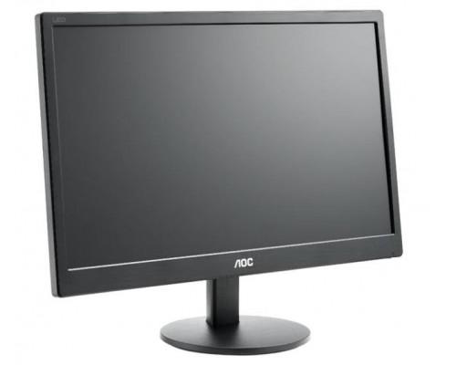 """МОНИТОР 19.5"""" AOC E2070SWN Black (LED, 1600x900, 5 ms, 90°/60°, 200 cd/m, 20M:1)"""