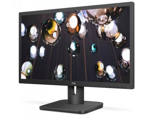 """МОНИТОР 21.5"""" AOC 22E1D Black (LED, 1920x1080, 2 ms, 170°/160°, 250 cd/m, 20M:1, +DVI, +HDMI 1.4, +MM)"""