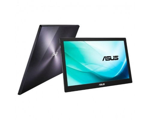 "МОНИТОР 15.6"" ASUS MB169B+ Black (IPS, LED, Wide, 1920x1080, 14ms, 160°/160°, 200 cd/m, 700:1, +USB, )"
