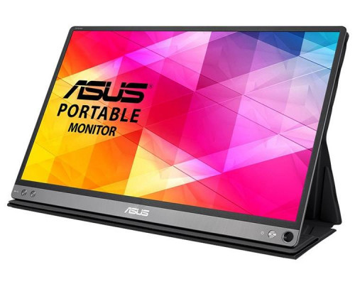 "МОНИТОР 15.6"" ASUS MB16AC Black (IPS, LED, Wide, 1920x1080, 160°/160°, 200 cd/m, 800:1, +USB, )"