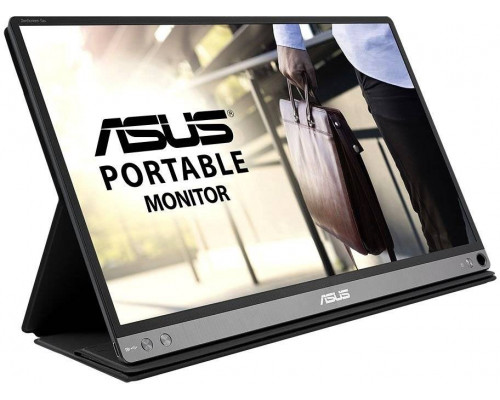 "МОНИТОР 15.6"" ASUS MB16AP Black (IPS, LED, Wide, 1920x1080, 178°/178°, 220 cd/m, 800:1, +USB, )"