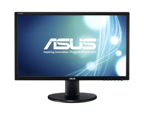 "МОНИТОР 21.5"" ASUS VE228HR glossy-black (LED, LCD, Wide, 1920 x1080, 5 ms , 170°/160°, 250 cd/m, 100`000`000:1, +DVI, +HDMI, +MM)"
