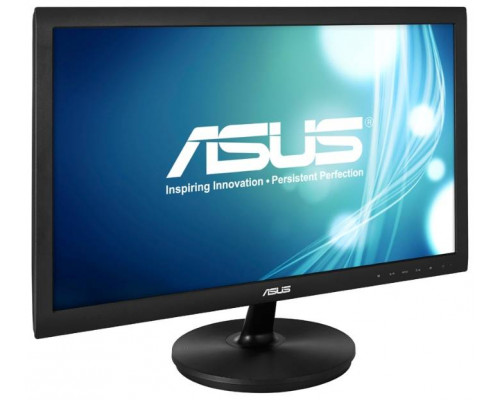 "МОНИТОР 21.5"" ASUS VS228HR glossy-black (LED, LCD, Wide, 1920 x1080, 5 ms , 170°/160°, 250 cd/m, 50`000`000:1,+HDMI, +DVI, +MM)"