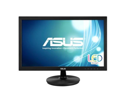 "МОНИТОР 21.5"" ASUS VS228NE black (LED, LCD, Wide, 1920x1080, 5 ms, 90°/65°, 200 cd/m, 50`000`000:1, +DVI)"