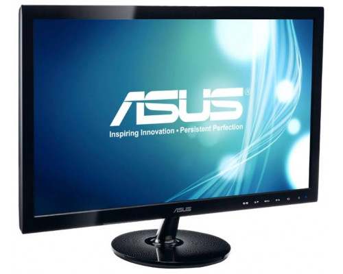 "МОНИТОР 21.5"" ASUS VS229HA glossy-black (IPS, LED, LCD, Wide,1920 x1080, 5ms , 178°/178°, 250 cd/m, 80`000`000:1,+HDMI)"