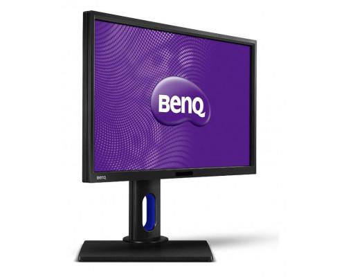 """МОНИТОР 23.8"""" BenQ BL2420PT Black с поворотом экрана (IPS, LED, 2560x1440, 5(14) ms, 178°/178°, 300 cd/m, 20M:1, +DVI, +DisplayPort, +HDMI, +MM, +2xUSB)"""