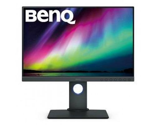 "МОНИТОР 24"" BenQ SW240 Gray (IPS, LED, 1920x1200, 5 ms, 178°/178°, 250 cd/m, 20M:1, +DVI, +HDMI 1.4, +DisplayPort 1.2, +2xUSB, +регулировка по высоте)"