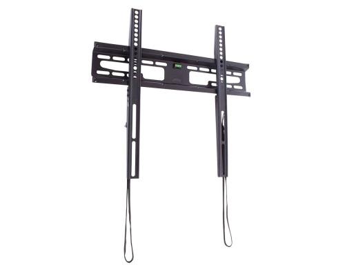 """Кронштейн Kromax FLAT-3 new черный для TV 22""""-65"""", настенный фиксированный, max VESA 400x400, от стены 28мм, нагрузка до 55 кг"""